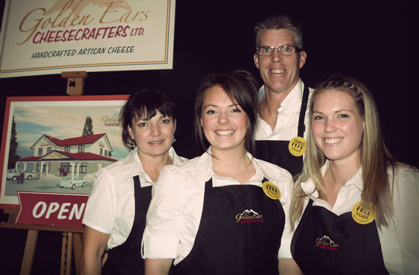 The Davison Family - Golden Ears Cheesecrafters