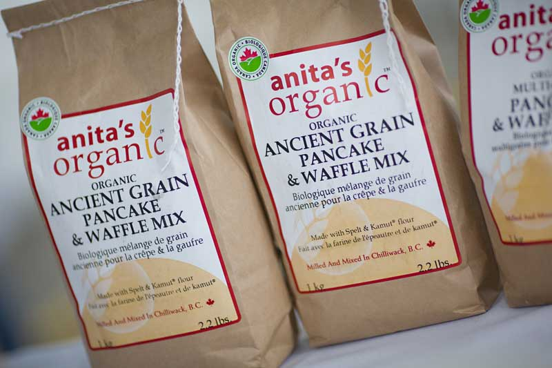 Anita's Organic Grain And Flour Mill