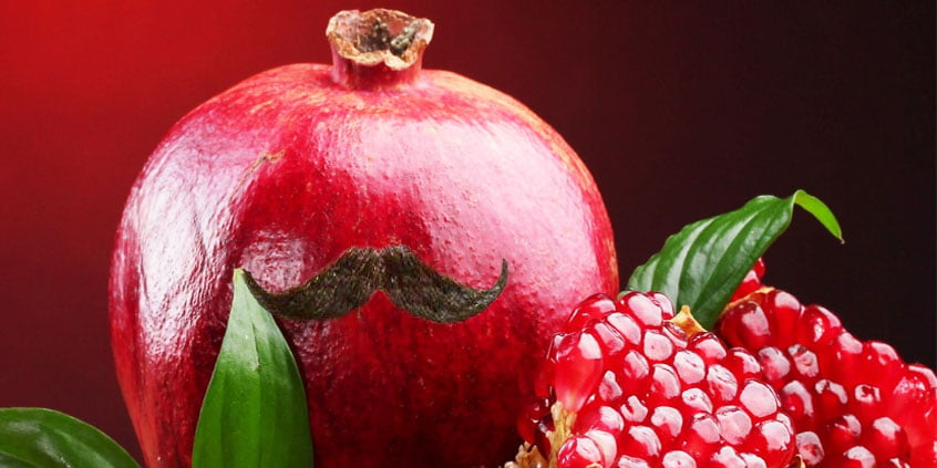 Pomegranate Moustache