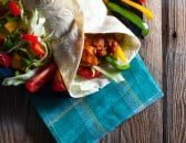 Mexican BBQ Wraps
