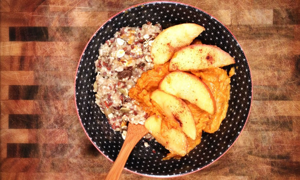 Julia Murray's Vegan Mashed Yams With Caramelized Apples