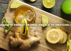 switchel ginger vinegar drink