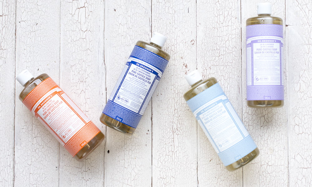 DR. BRONNER'S CASTILE SOAP: THE SOAP WITH 100 USES