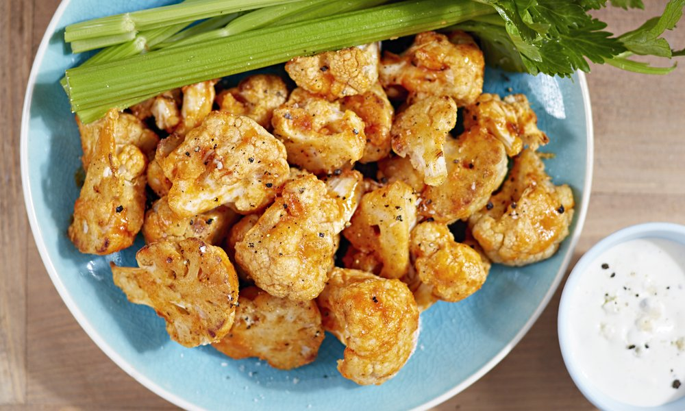 CAULIFLOWER WINGS THAT TASTE BETTER THAN THE REAL THING