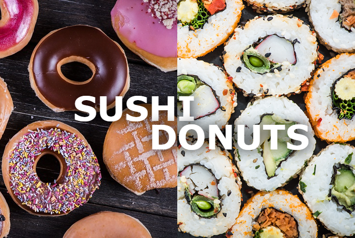 LATEST INSTAGRAM FOOD CRAZE: SUSHI DOUGHNUTS!