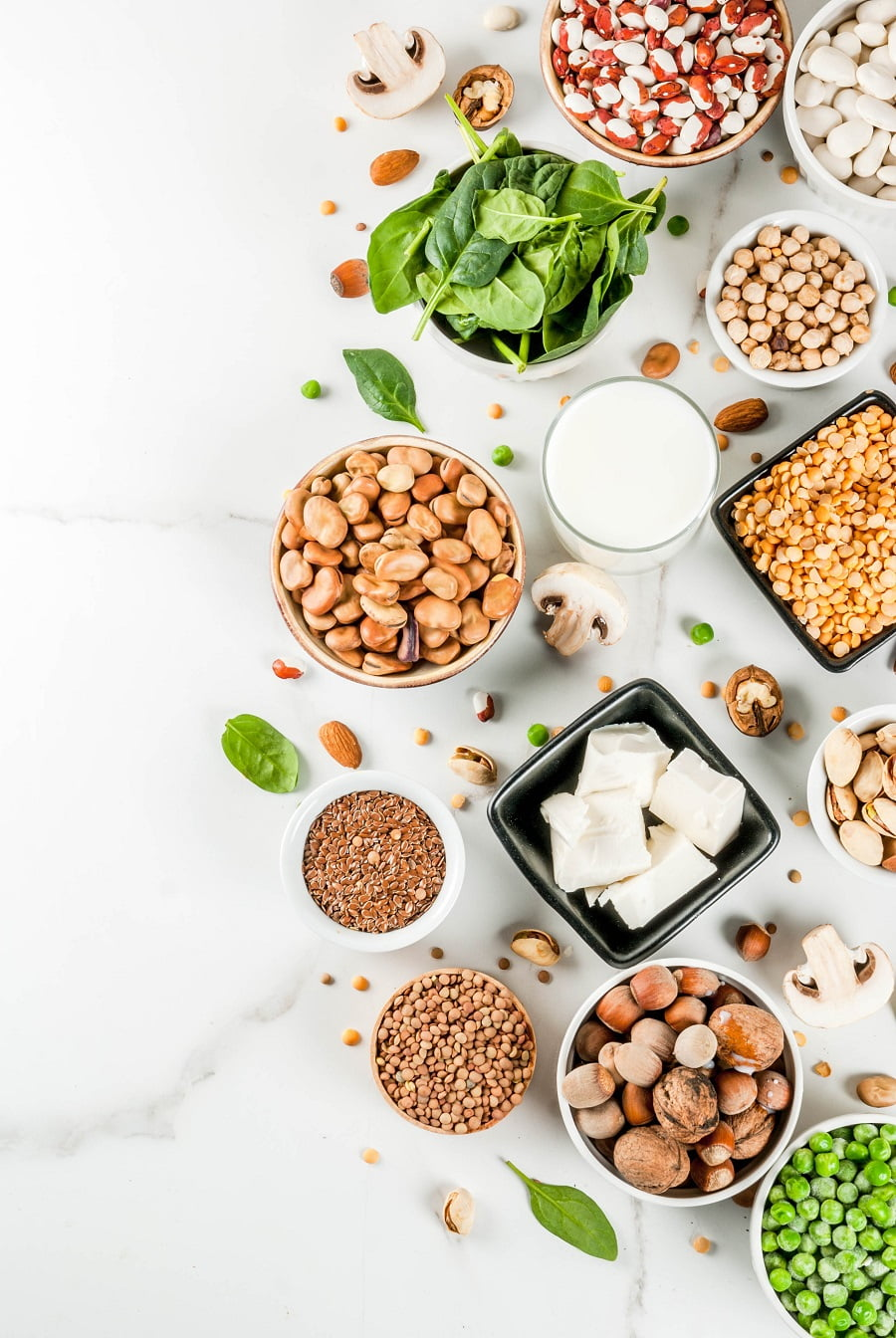 5 Awesome Plant Based Protein Sources! #Vegan #vegetarian