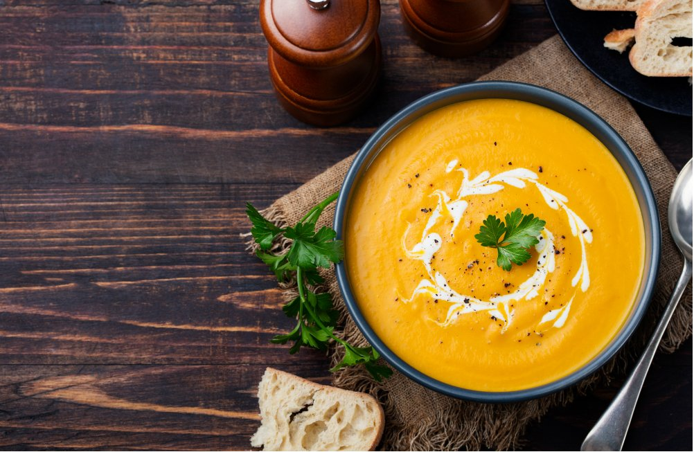 SQUASH THE COLD WITH THIS NOURISHING SOUP