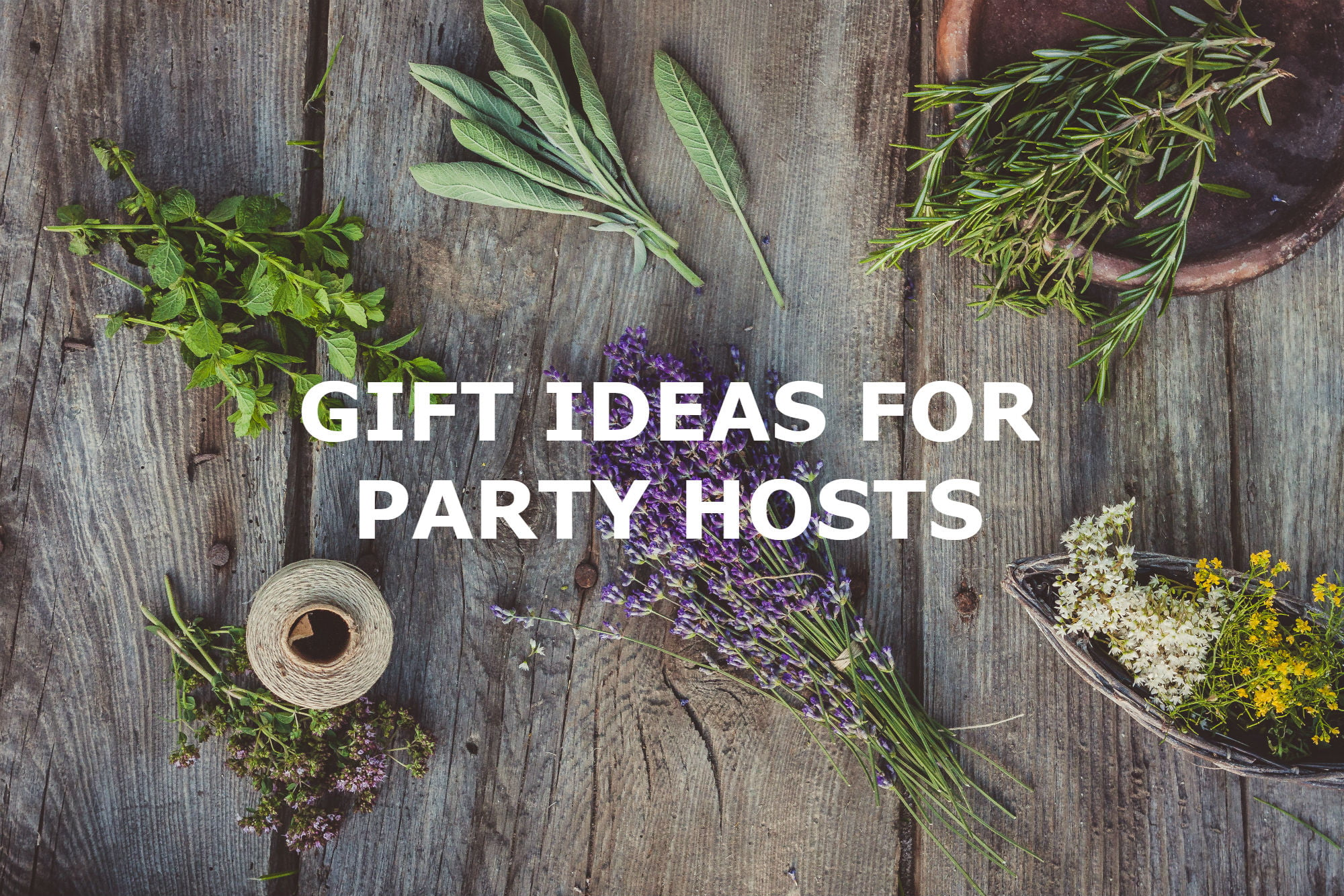 SPUD GIFT GUIDE: GIFTS FOR HOSTS