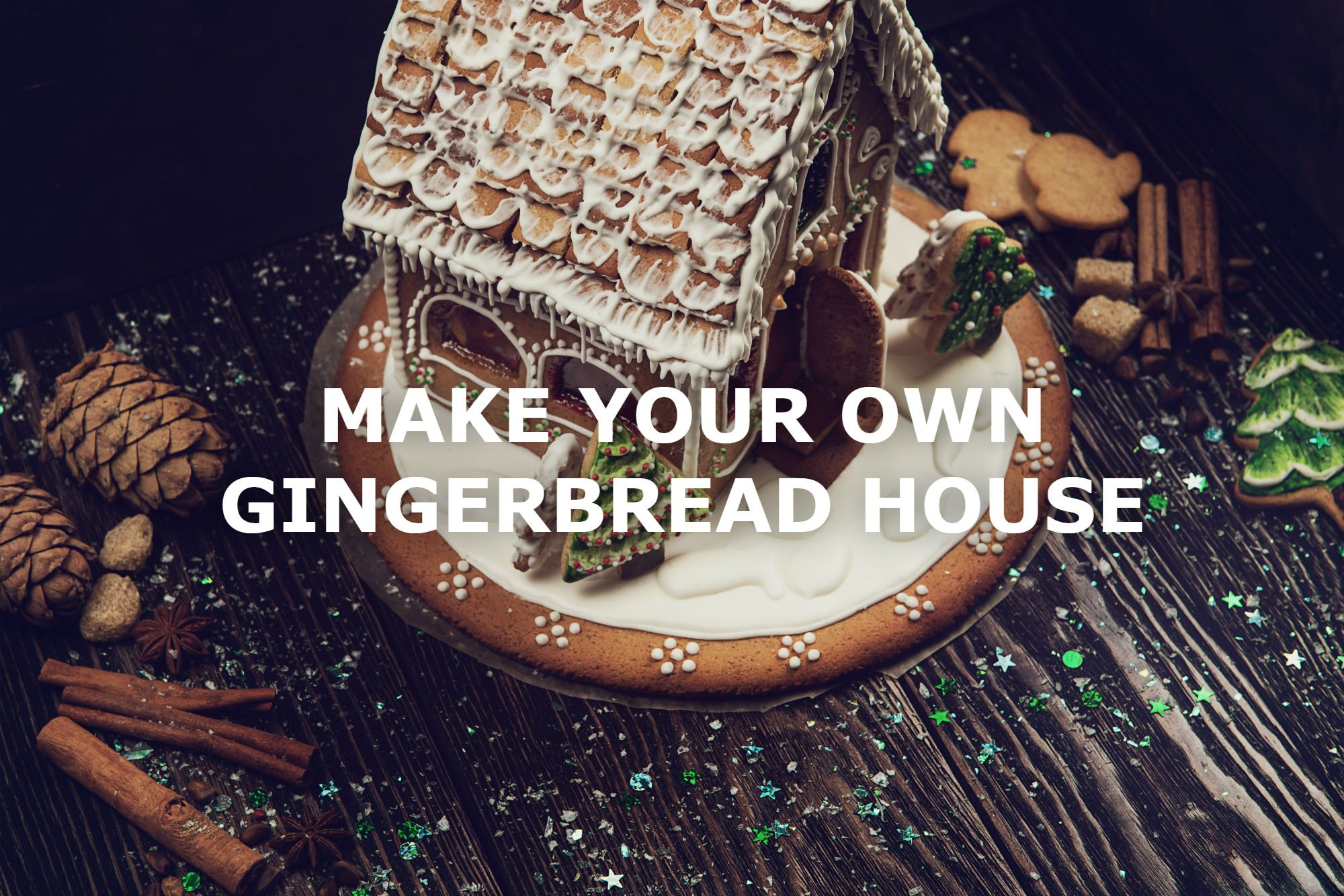 TIPS FOR A FOOLPROOF DIY GINGERBREAD HOUSE