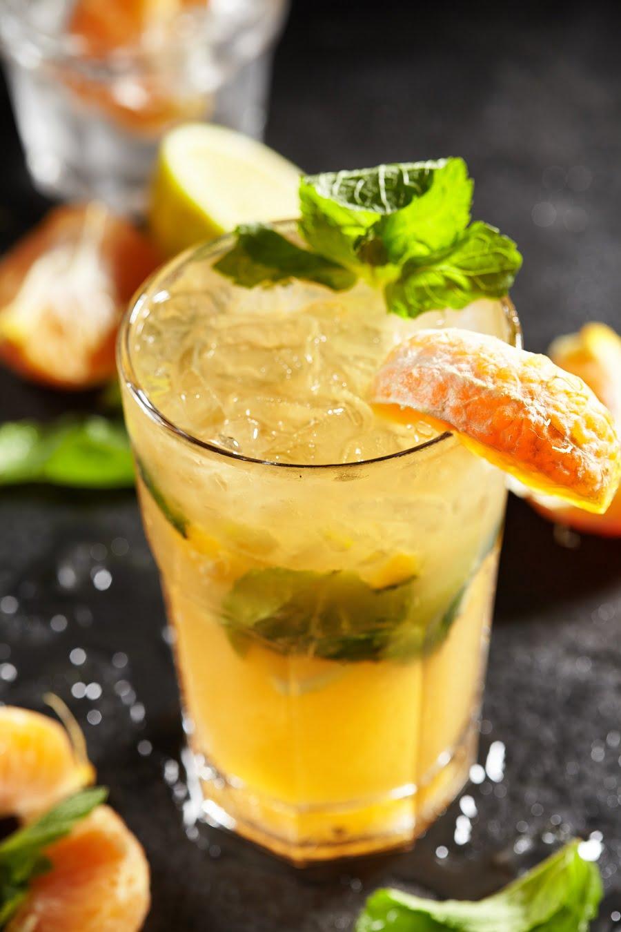 How to make a satsuma orange mojito #recipe