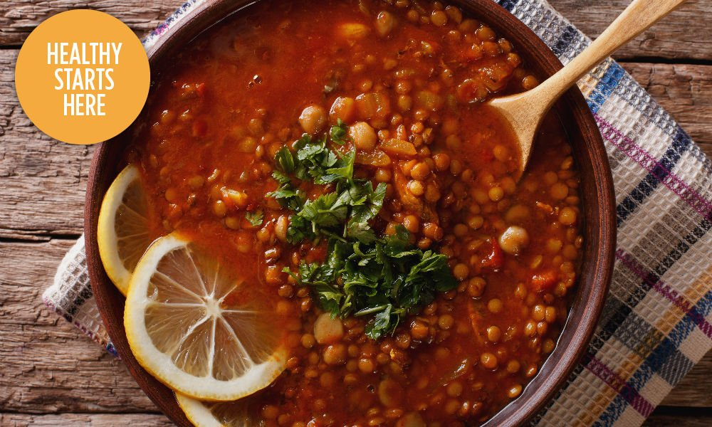 YOUR NEW LUNCH STAPLE: THE SPICED VEGAN LENTIL SOUP