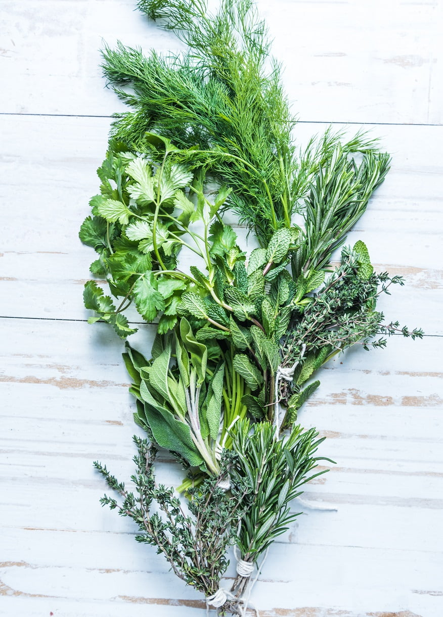 How to use fresh herbs