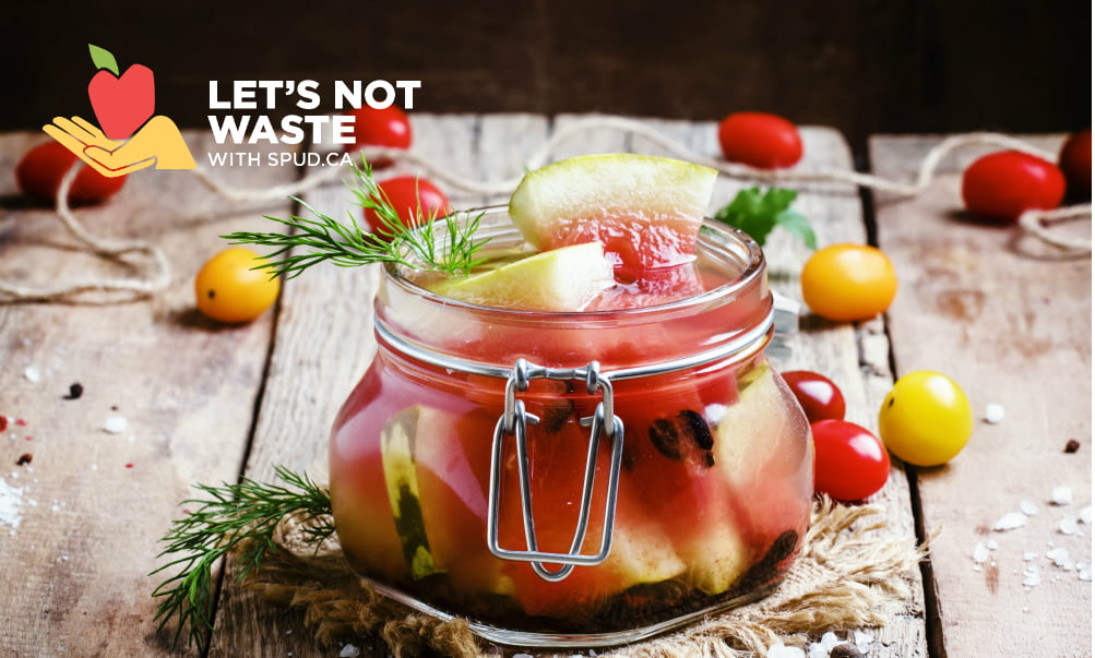 CAN YOU PICKLE IT: LEFTOVER VEGETABLE PARTS