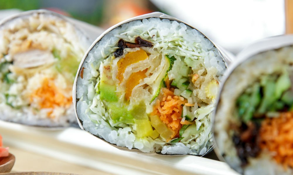 NOT ANOTHER SUSHI-HYBRID FOOD TREND: THE SUSHI BURRITO