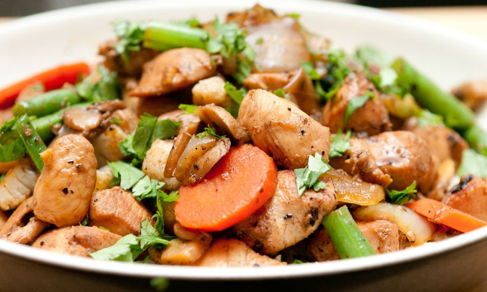 Vegan Chicken Stir Fry Banner