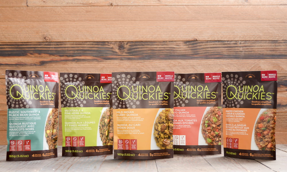 MAKE MEALS EASIER AND TASTIER WITH QUINOA QUICKIES!