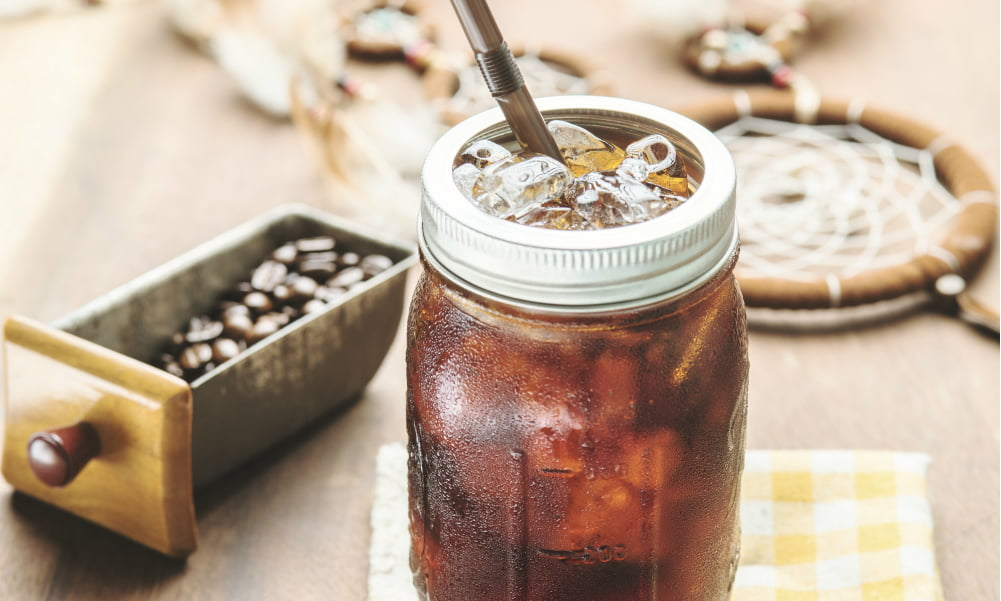 HOW TO MAKE THE PERFECT COLD BREW AT HOME