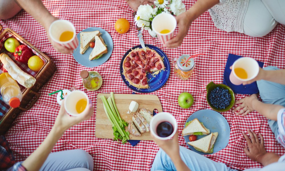 PICNIC 101: 6 SIMPLE TRICKS TO KEEP BUGS AWAY