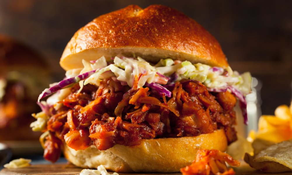 TRY THIS TERIYAKI PULLED JACKFRUIT RECIPE FROM OUR RESIDENT VEGAN