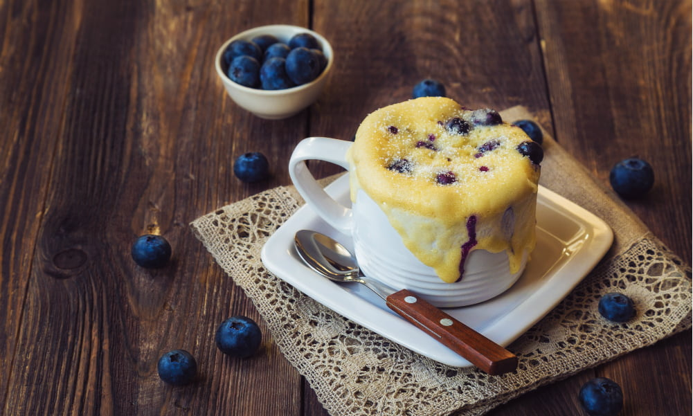 5 EASY AND HEALTHY TWO-MINUTE BREAKFAST IN A MUG RECIPES