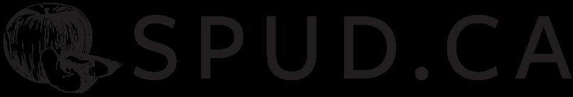 SPUDCA Logo Horizontal No Tagline CYMK Black