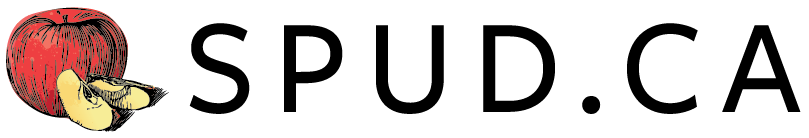 SPUDCA Logo Horizontal No Tagline CYMK Colour Black