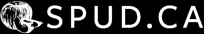 SPUDCA Logo Horizontal No Tagline CYMK White