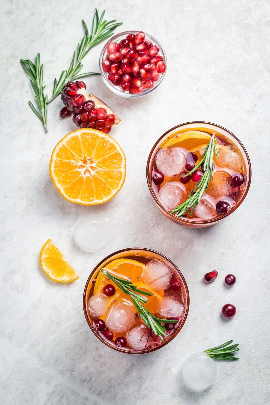 Autumn sangria for the holidays