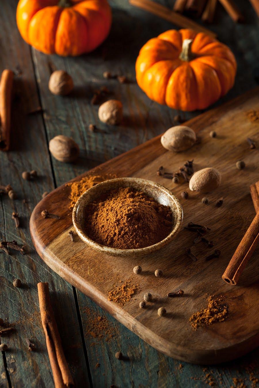 DIY Pumpkin Spice Mix