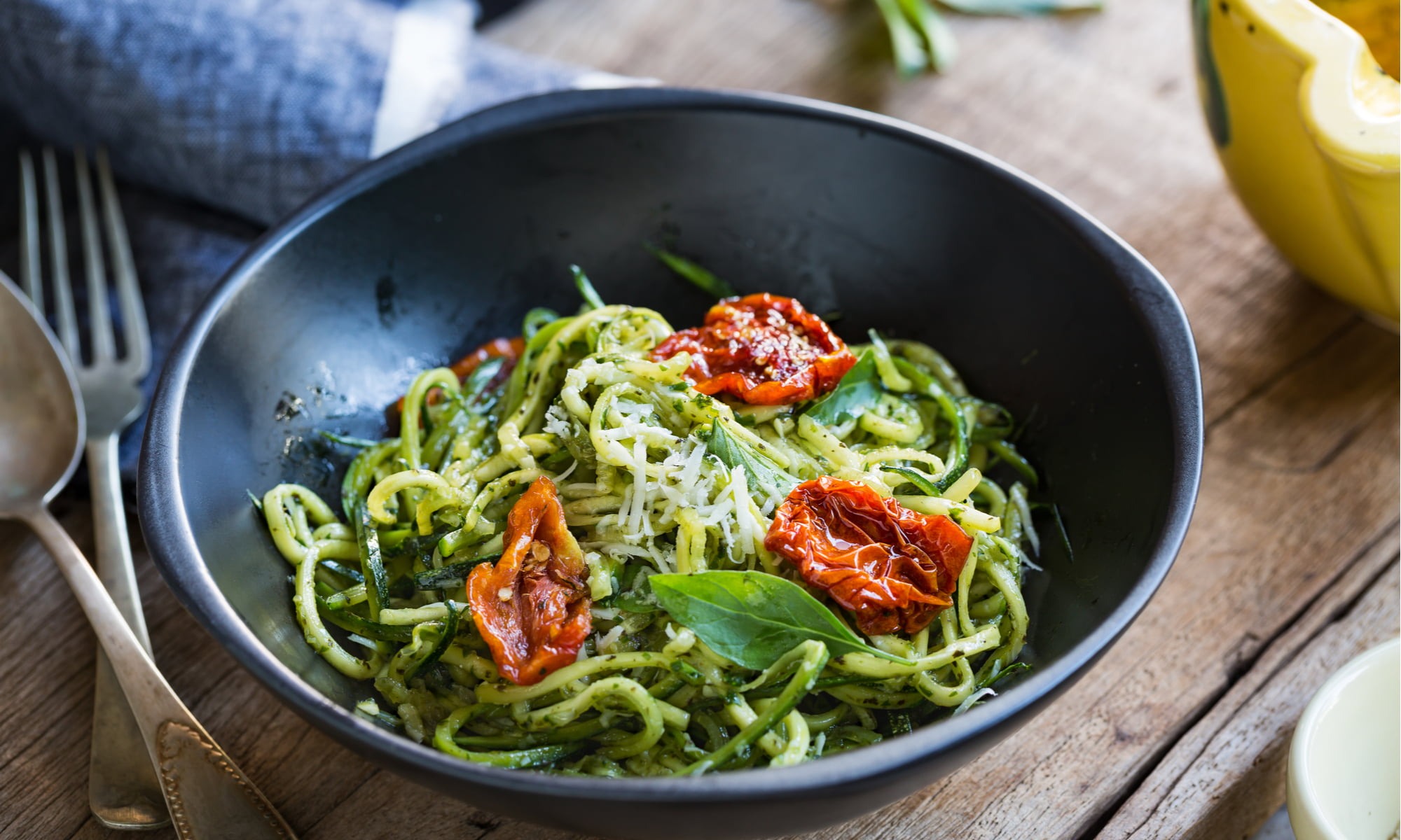 SAVE TIME (AND STAY HEALTHY!) WITH PRE-CUT ORGANIC ZOODLES