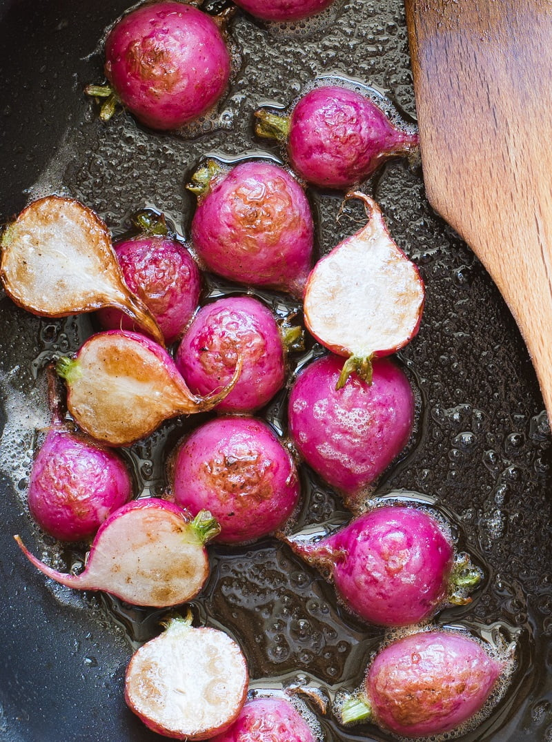 Roasted Radishes: the BEST way to cook radishes