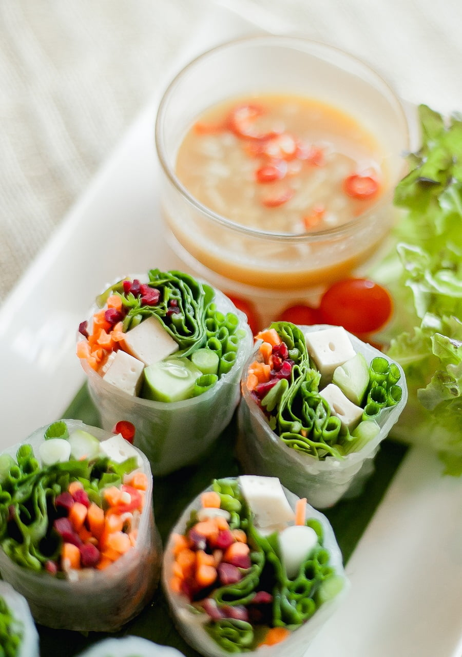 Fresh Spring Rolls: A Quick and Easy Summer Staple (Dairy-Free + Gluten-Free)