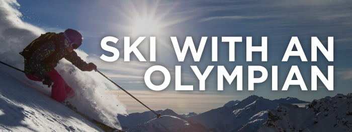 Win A ½ Day Of Skiing With Olympian Julia Murray