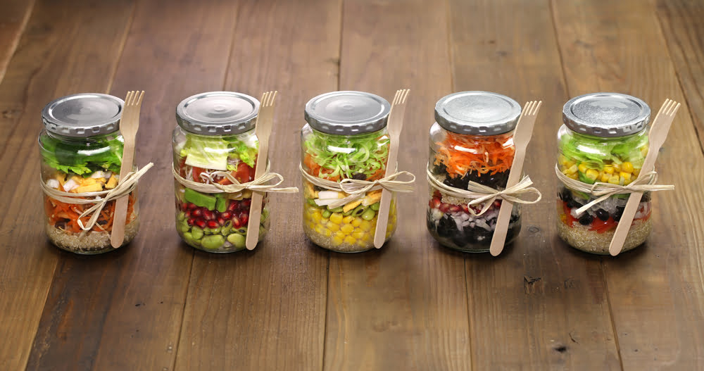 Easy And Delicious Salads In A Jar