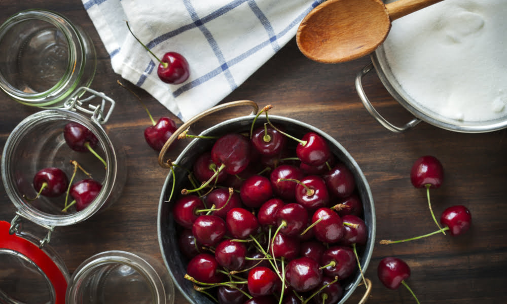 Canning Cherries
