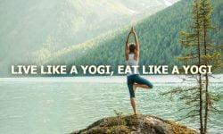 Outdoor Yoga Yogic Diet
