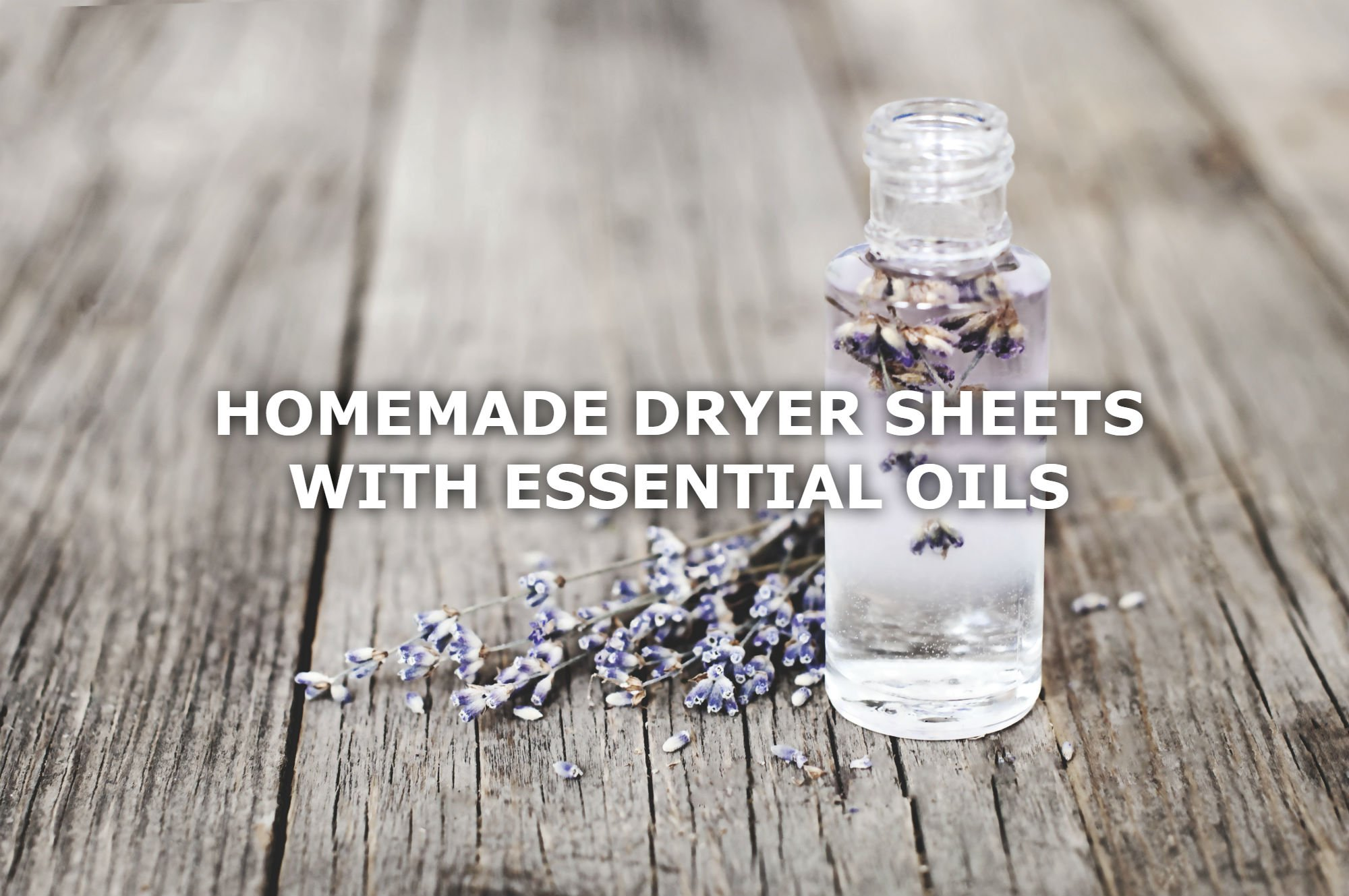 DIY OF THE WEEK: DIY DRYER SHEETS