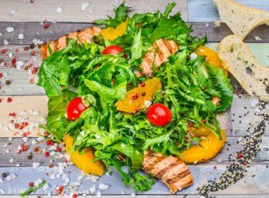 Lunch Salmon Salad