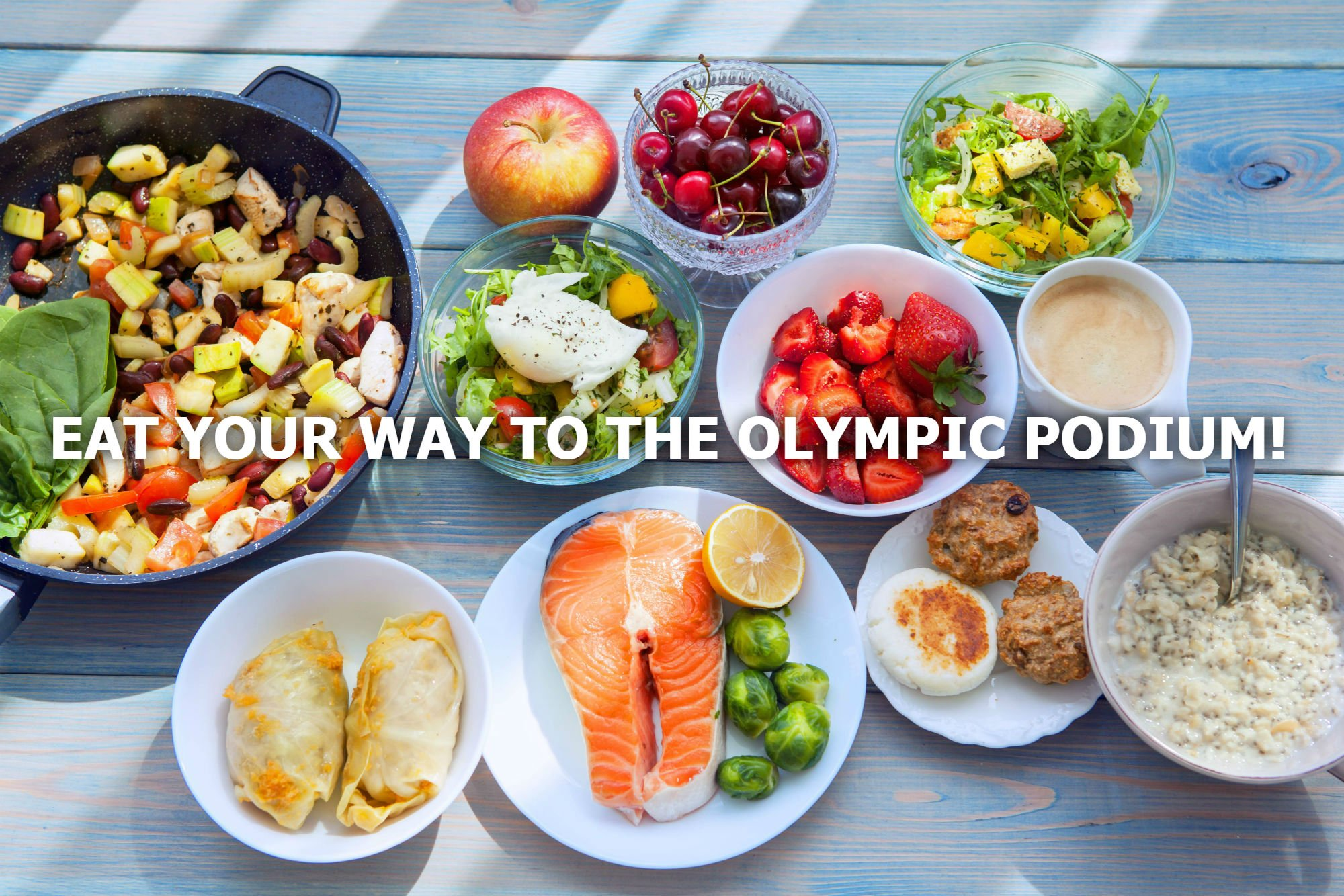 EAT YOUR WAY TO THE OLYMPIC PODIUM!
