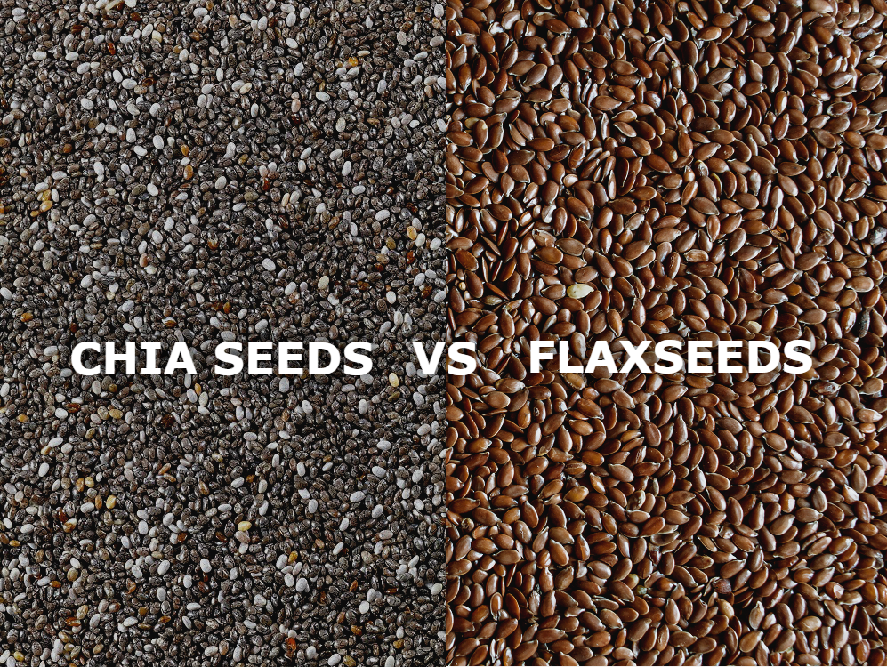 ARE FLAXSEEDS HEALTHIER THAN CHIA SEEDS?