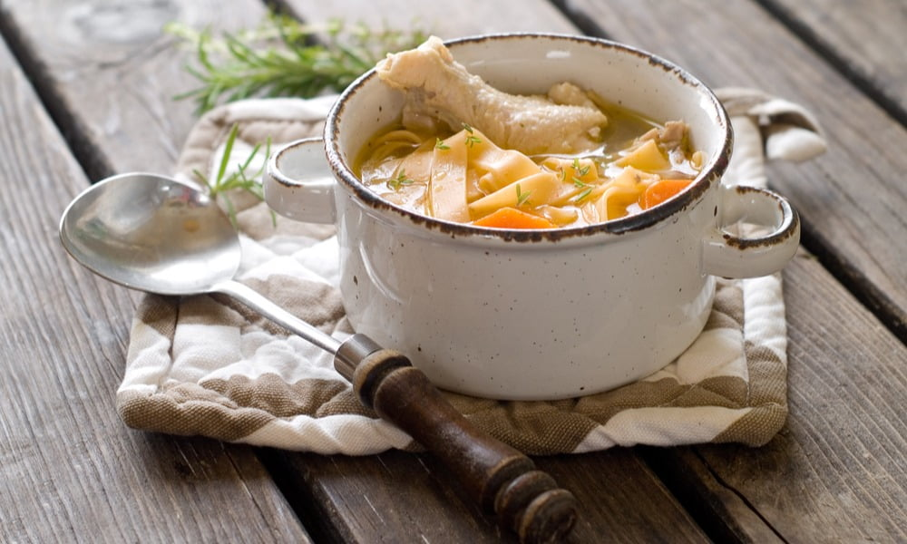 THE ULTIMATE COLD-BUSTING CHICKEN SOUP