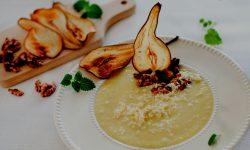Pear + Leek Soup