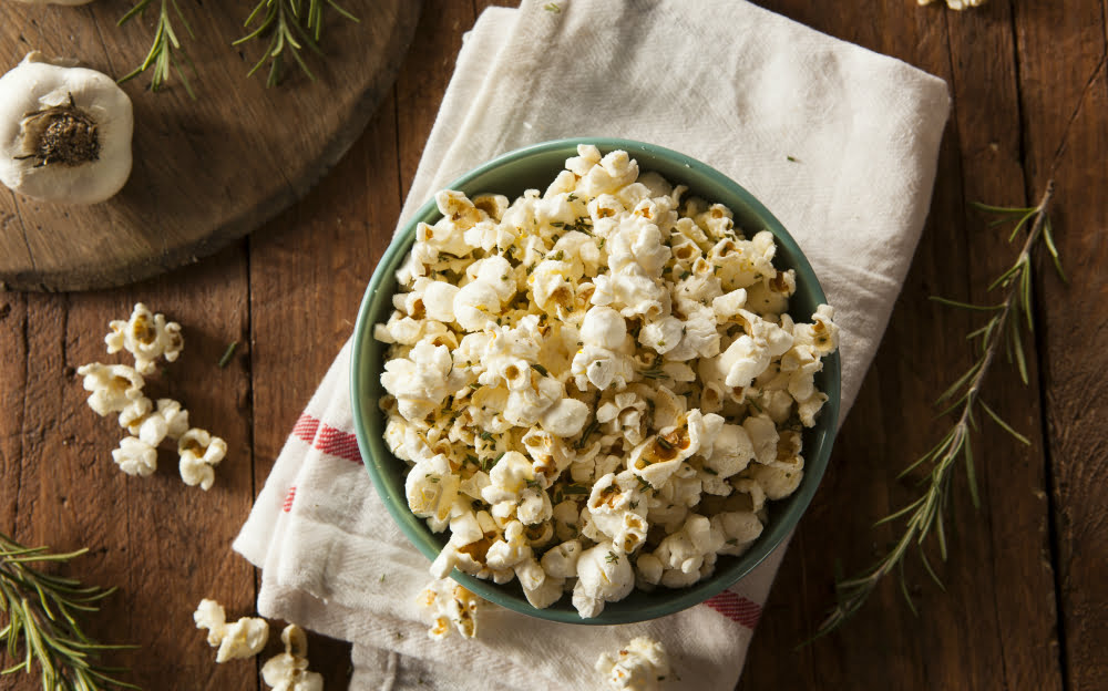 AN OSCAR-WORTHY POPCORN: BROWN BUTTER, ROSEMARY, AND LEMON RECIPE