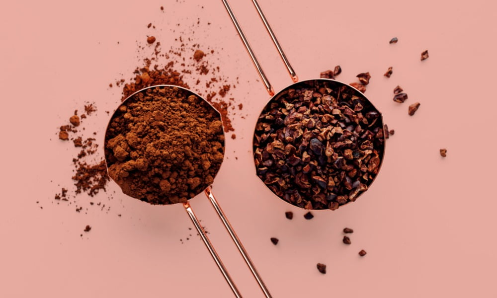 cacao vs. cocoa