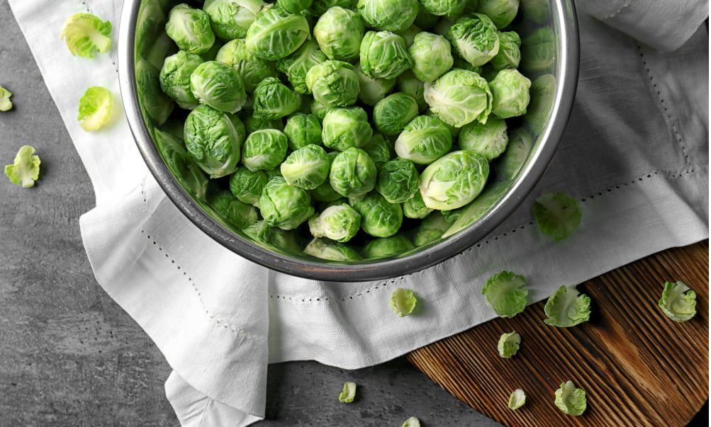 YOU'RE DOING BRUSSELS SPROUTS ALL WRONG