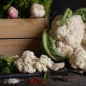 garlic crowned cauliflower