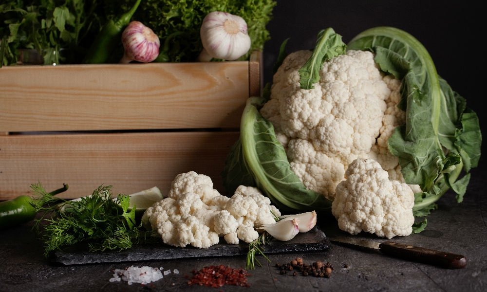 TRY THIS CROWNED CAULIFLOWER RECIPE FROM OUR RESIDENT VEGAN