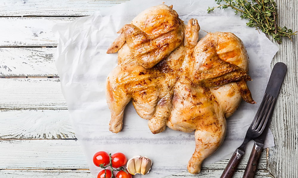 HOW TO GRILL A WHOLE CHICKEN