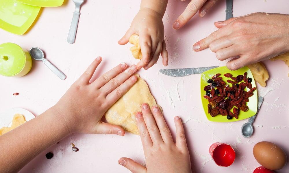 Kids Help Meal Prep