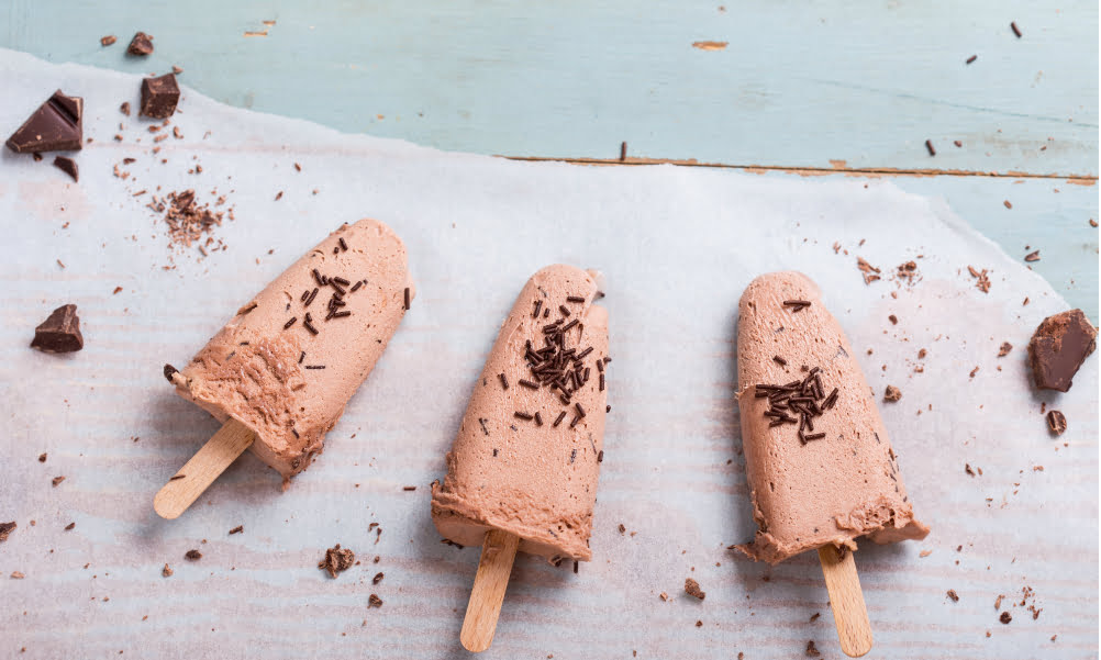 Protein Powder Ice Pops